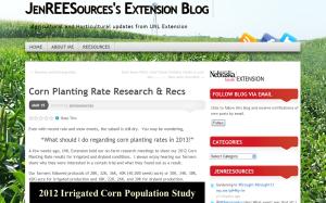 Jenny Rees blog example