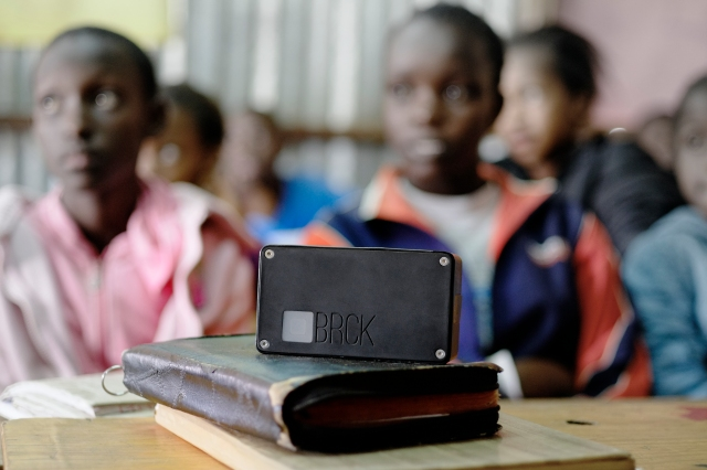 Now that BRCK has launched, Ushahidi is turning its attention to where it will be best put to use -- in schools. Photo: BRCK