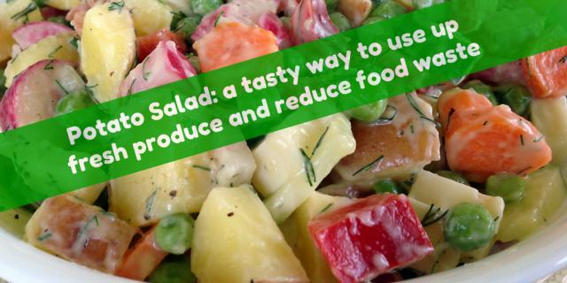 Potato Salad- a Tasty Way to use up